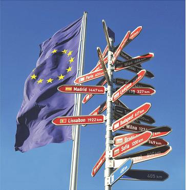 Europa an die Schulen-Flyerbild