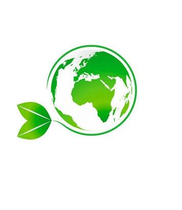 Weltkugel mit Blatt-Nachhaltigkeit5