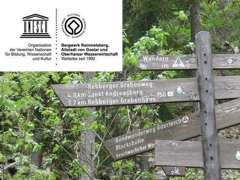 Wegweiser Grabenhausweg_UNESCO